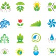 Royalty-Free Stock Vector Image: Environment. Set of design elements and icons.