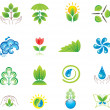 Stock Vector: Environment. Set of design elements and icons.