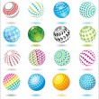 Royalty-Free Stock Vector Image: Set of design elements and buttons.