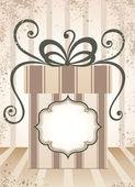 Gift background. — Stock Vector