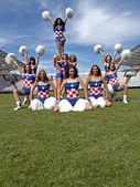 Cheerleaders — Zdjęcie stockowe