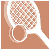 Tennis pictogram — Stock Vector