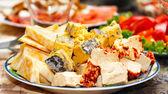 Peynir tabağı — Stok fotoğraf