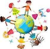 Children ih the world — Stock Vector