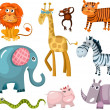 Animal set — Stock Vector #8067991