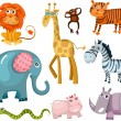 Royalty-Free Stock Vector Image: Animal set
