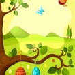 Easter card — Stock Vector #8365643