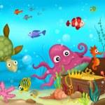 Sea life — Stock Photo #8973745
