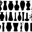 Vase set — Stock Vector