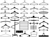 Hanger set — Stock Vector