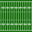 American football field — Vettoriali Stock