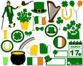 Illustration of Saint Patrick's Day — Stock Vector