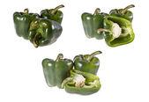 Pepper, green, — Stock Photo