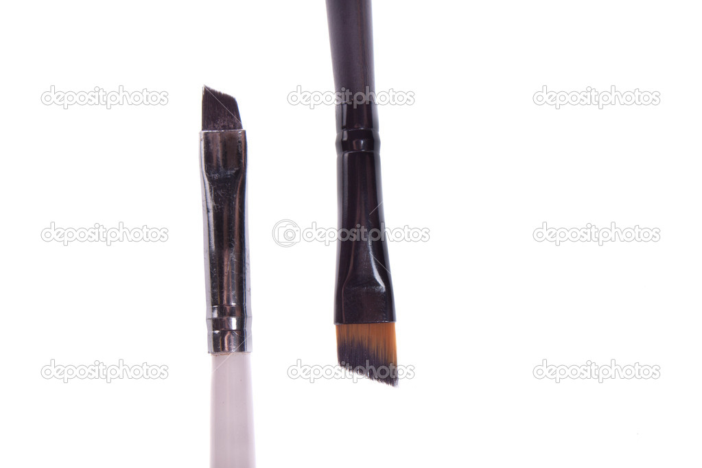 Brush to white and black makeup  Stock Photo #10241327