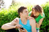 Relations entre hommes et femmes. jeunesse. — Photo