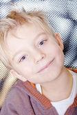 Little boy smile, portrait — Stock Photo