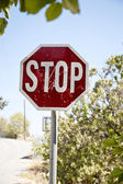 Stop in nature — Stock Photo