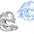 Royalty-Free Stock Vector Image: Sea wave