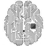 Motherboard brain — Stock Vector #10545402