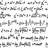 Algebra senza soluzione di continuità — Vettoriale Stock