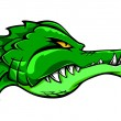 Crocodile mascot - Stock Vector