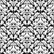 Royal damask seamless pattern — Stok Vektör
