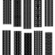Royalty-Free Stock Vector Image: Tyre shapes