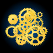 Royalty-Free Stock Vector Image: Clockwork mechanism