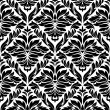 Damask seamless background — Stock vektor