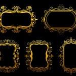Vintage frames — Stock Vector #9576115