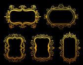 Vintage frames — Stock Vector