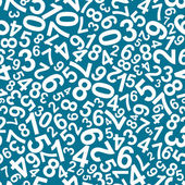 Seamless pattern with numbers — Stockvector