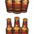 Beer bottles - Stock Vector
