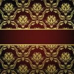 Seamless damask pattern — Stock Vector #9340560