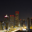 Central business of district in beijing — Stock Photo