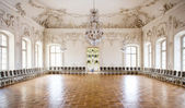 Great Hall Ballroom in Rundale Palace, Latvia — Stock Photo