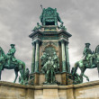 Maria-Theresa Monument, Vienna — Stock Photo