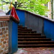 Hundertwasser House architecture detail — Stock Photo