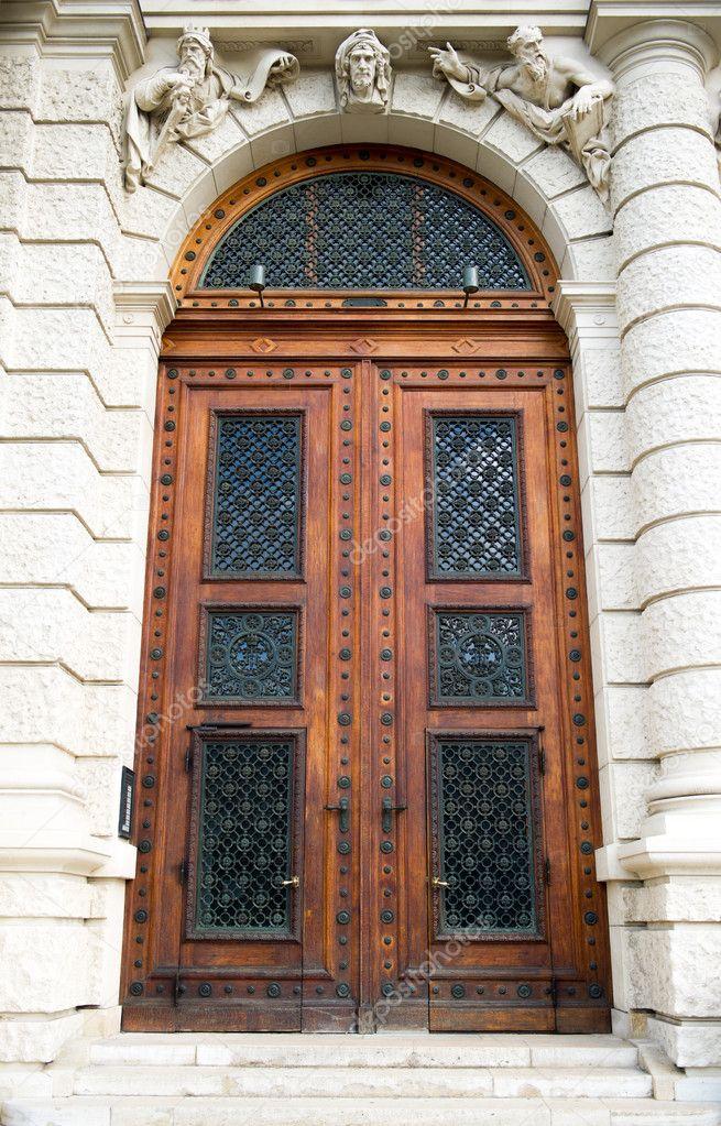 Деревянные узор дверь фото