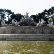 The Neptune fountain - 图库照片