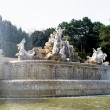The Neptune fountain — Stock fotografie