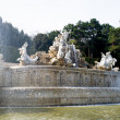 The Neptune fountain — 图库照片