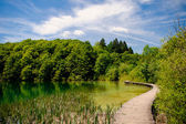 Plitvice Lakes National Park in Croatia, beautiful landscape — Stock Photo