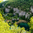 Beautiful landscape. Plitvice Lakes National Park in Croatia — Stock Photo
