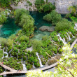 Stock Photo: Breathtaking view in Plitvice Lakes National Park. Croatia