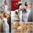 Wedding collage — Stock Photo #8568575