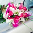 Beautiful bridal bouquet - Stock Photo