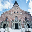 St. Peter's Church in Riga, Latvia - Stock Photo
