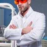 Confident successful doctor — Stock Photo #9517236