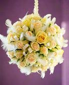 Beautiful bridal bouquet — Stock Photo